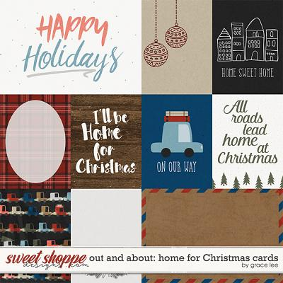 Out and About: Home For Christmas Cards by Grace Lee