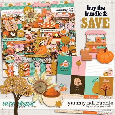 Yummy Fall Bundle by Kelly Bangs Creative