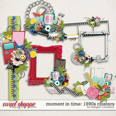 Moment in Time: 1990s Clusters by Meagan's Creations