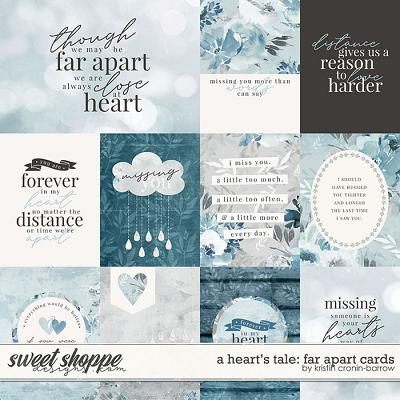A Heart's Tale: Far Apart Cards by Kristin Cronin-Barrow