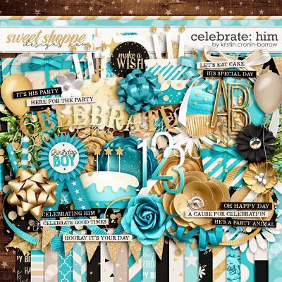 Celebrate: Him by Kristin Cronin-Barrow