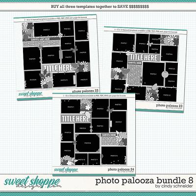 Cindy's Layered Templates - Photo Palooza Bundle 8 by Cindy Schneider