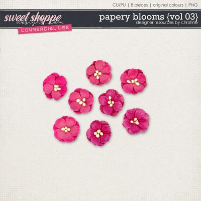 Papery Blooms {Vol 03} by Christine Mortimer