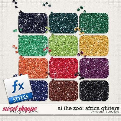 At the Zoo: Africa Glitters by Meagan's Creations