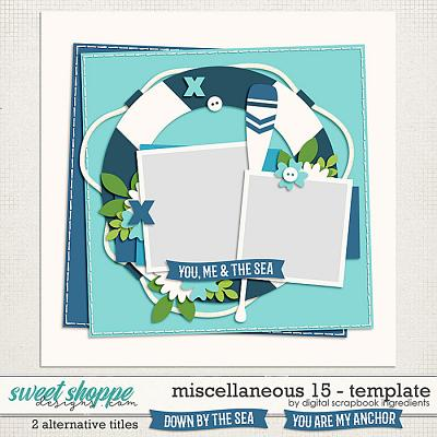 Miscellaneous 15 Template by Digital Scrapbook Ingredients