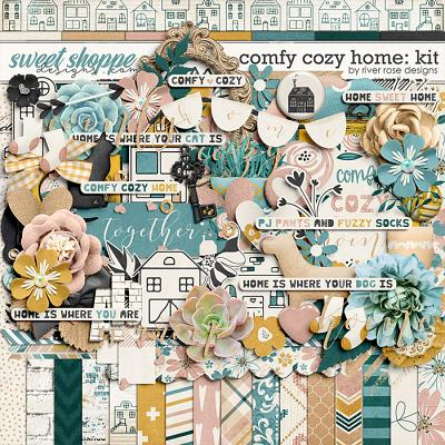 Comfy Cozy Home: Kit by River Rose Designs
