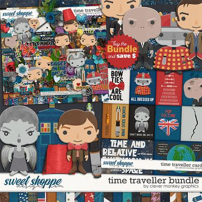 Time Traveller Bundle by Clever Monkey Graphics