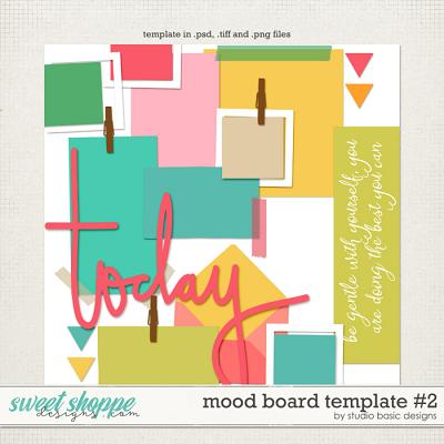 Mood Board Template #2 by Studio Basic