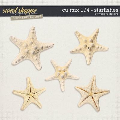CU Mix 174 - starfishes by WendyP Designs