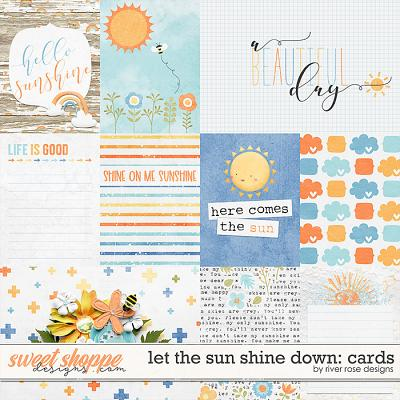 Let the Sun Shine Down: Cards by River Rose Designs