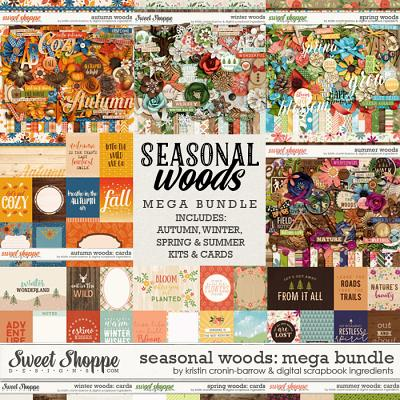 Seasonal Woods Mega Bundle by Kristin Cronin-Barrow & Digital Scrapbook Ingredients