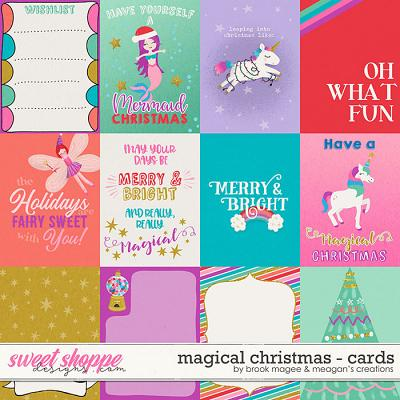 Magical Christmas Cards by Brook Magee and Meagan's Creations