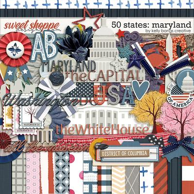 50 States: Maryland by Kelly Bangs Creative