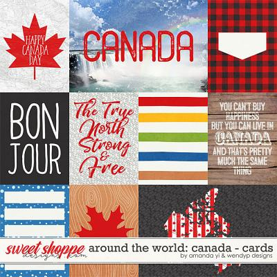 Around the world: Canada - Cards by Amanda Yi & WendyP Designs