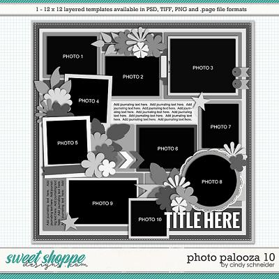 Cindy's Layered Templates - Photo Palooza 10 by Cindy Schneider