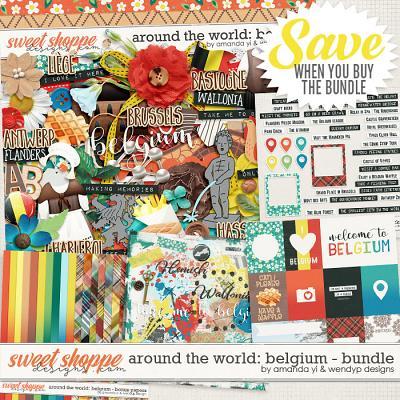 Around the world: Belgium - Bundle by Amanda Yi & WendyP Designs