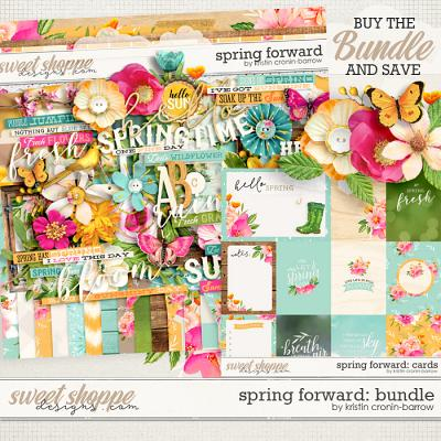 Spring Forward: Bundle by Kristin Cronin-Barrow