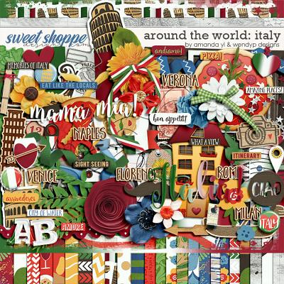 Around the world: Italy by Amanda Yi and WendyP Designs