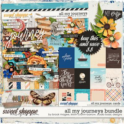 All My Journeys Bundle by Brook Magee, Kristin Cronin-Barrow & Studio Basic