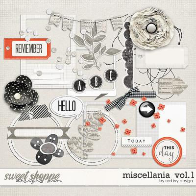 Miscellania Vol. 1 by Red Ivy Design