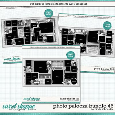 Cindy's Layered Templates - Photo Palooza Bundle 46 by Cindy Schneider
