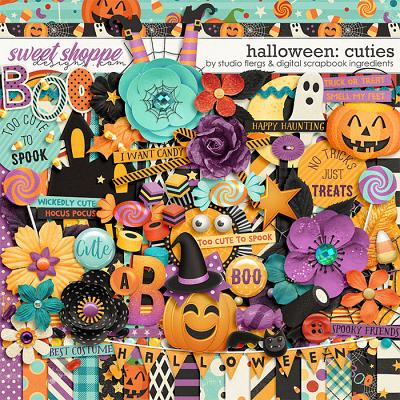 Halloween Cuties by Studio Flergs & Digital Scrapbook Ingredients