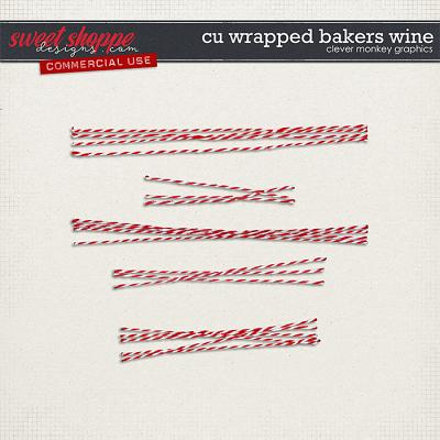 CU Wrapped Bakers Twine by Clever Monkey Graphics