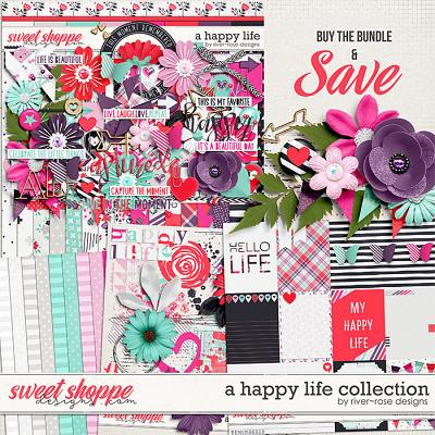 A Happy Life Collection by River Rose Designs
