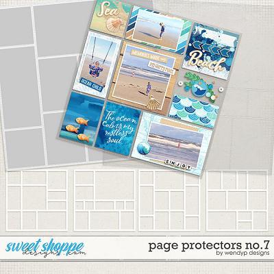 Page Protectors No.7 by WendyP Designs