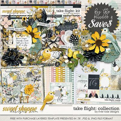 Take Flight: Collection + FWP by River Rose Designs