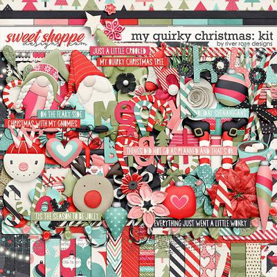 My Quirky Christmas: Kit by River Rose Designs