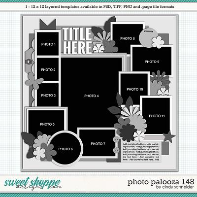 Cindy's Layered Templates - Photo Palooza 148 by Cindy Schneider