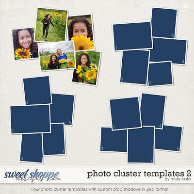 Photo Cluster Templates 2 by Misty Cato
