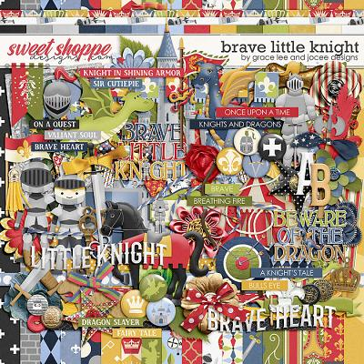 Brave Little Knight by Grace Lee and JoCee Designs