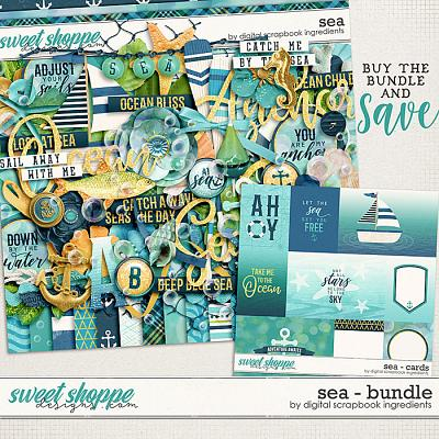 Sea Bundle by Digital Scrapbook Ingredients