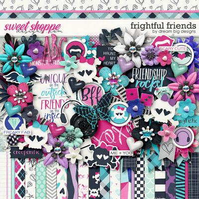 Frightful Friends by Dream Big Designs
