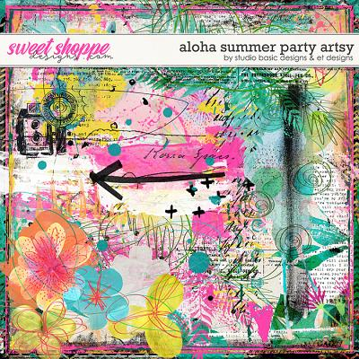 Aloha Summer Party Artsy by Studio Basic and et designs