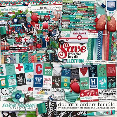 Doctor's Orders - Bundle by Clever Monkey Graphics & WendyP Designs