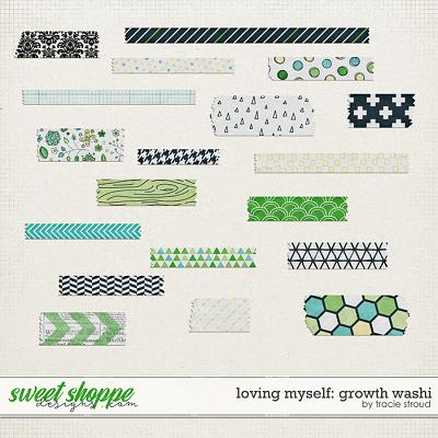 Loving Myself: Growth Washi by Tracie Stroud