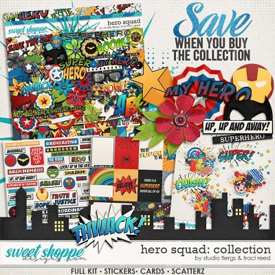 Hero Squad: COLLECTION by Studio Flergs & Traci Reed