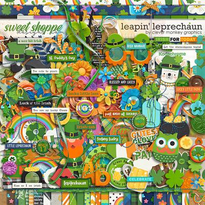 Leapn' Leprechaun by Clever Monkey Graphics