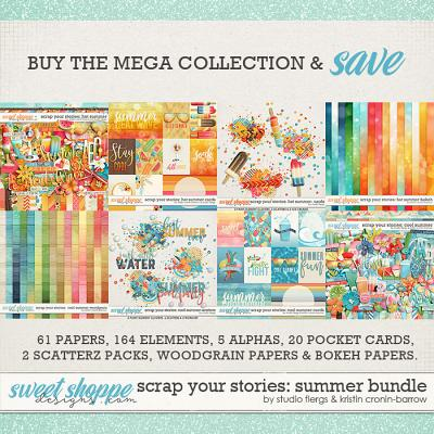 Scrap Your Stories: SUMMER BUNDLE by Studio Flergs & Kristin Cronin-Barrow