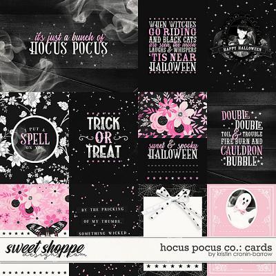 Hocus Pocus Co: Cards by Kristin Cronin-Barrow
