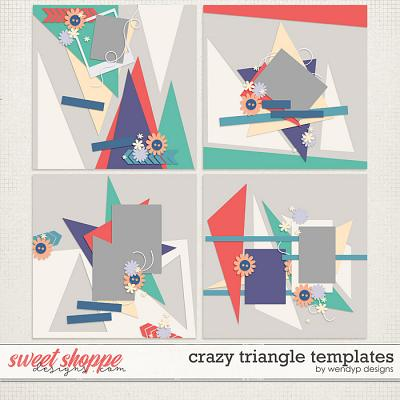 Crazy Triangle templates by WendyP Designs