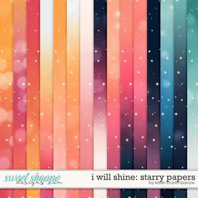 I Will Shine: Starry Papers by Kristin Cronin-Barrow