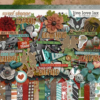 Live Love Lax by WendyP Designs