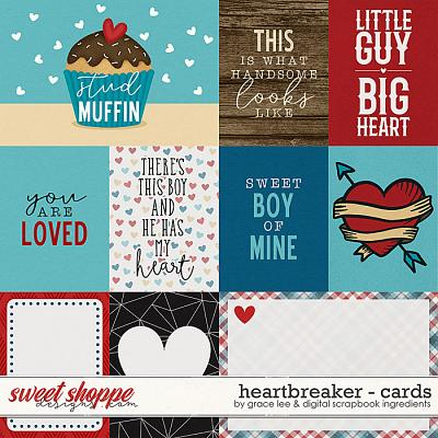 Heartbreaker: Cards by Digital Scrapbook Ingredients and Grace Lee