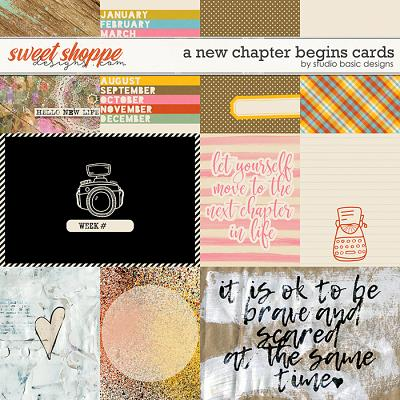 A New Chapter Begins Cards by Studio Basic