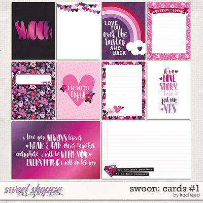 Swoon Journal Cards #1 by Traci Reed