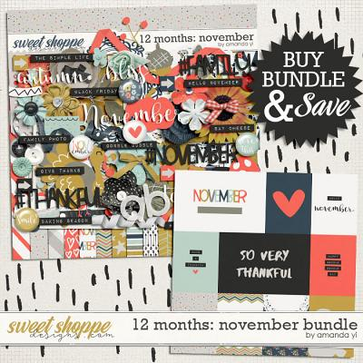 12 Months: November Bundle by Amanda Yi